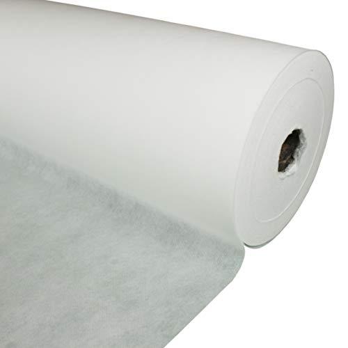 kissenwelt.de Vliesstoff Meterware, Polstervlies 160 cm Breit, (Polypropylen), (weiß, 30g / m²)