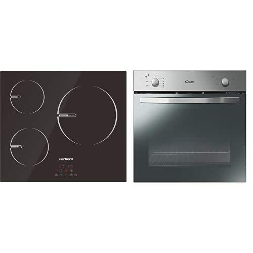Placas De Induccion De 60 Cms. + Candy - Fcs100X/E - Horno Eléctrico - 2100W, Capacidad 70L, Puerta...