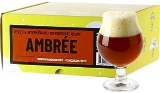 Recette Bière - Brassez Votre bière Maison en Tout Grain - Recharge Kit de Brassage Intermédiaire (Recette bière ambrée)