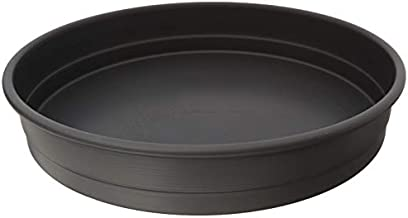 LloydPans 12x2.25, Pre-Seasoned PSTK, Anodized Aluminum, Self-St Deep Dish Pizza Pan, 12x2.25 inches, Dark Gray