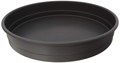 LloydPans 12x2.25 Chicago Style, Pre-Seasoned PSTK, Self-Stacking Deep Dish Pizza Pan, 12x2.25 inches, Dark Gray