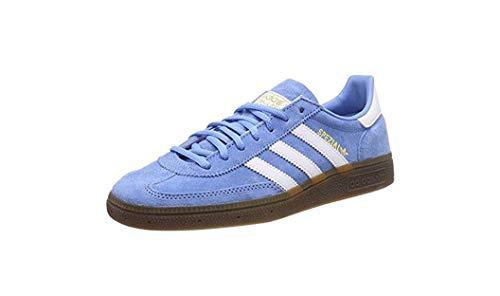 adidas Herren Handball Spezial Gymnastikschuhe, Blau (Light Blue/FTWR White/Gum5), 43 1/3 EU