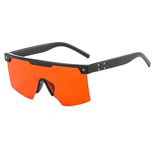Nuevas gafas de sol Gafas de sol de una pieza Gafas de sol cuadradas de estilo europeo y americano Gafas de sol Gafas de sol de moda