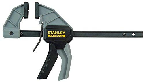 Stanley Einhandzwinge (Größe M, 45 kg Spannkraft, 150 mm Spannweite, 325 mm Länge, 130-270mm Spreizweite) FMHT0-83232