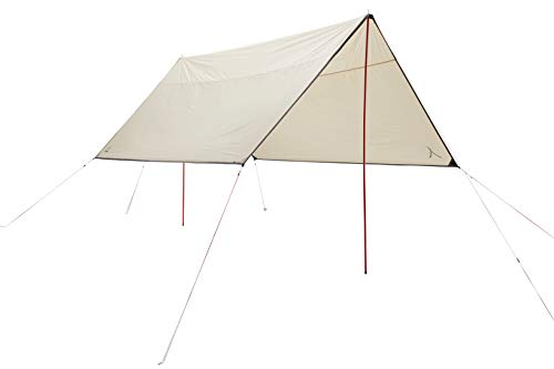 Grand Canyon Shelter Zuni 4 - Tarp/Luifel 400 x 400 cm - vierkante vorm, UV50+, waterdicht