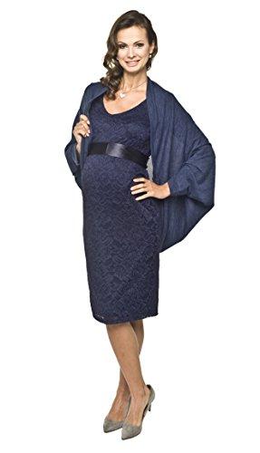 Torelle Maternity Wear Strickjacke Damen, Bolero, Cardigan Modell: ETEL, Farbe: dunkelblau, Gr. XS/M