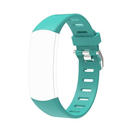 BingoFit Kids Fitness Tracker Ersatzgurte Sport Band, Activity Tracker Armband Nur für Slim Kids / FT905, No Tracker (Grün)