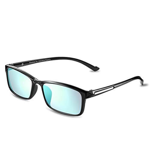 PILESTONE TP-012 (Tippe A) farbenblinde gläser Color Blind Korrekturbrille für rote/grüne Farbenblindheit - FüralleFarb-Blindtypen