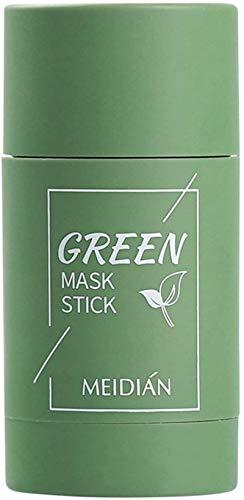 ZGHYBD Green Tea/Eggplant Purifying Clay Stick Mask, Face Moisturizes Oil Control, Blackhead...
