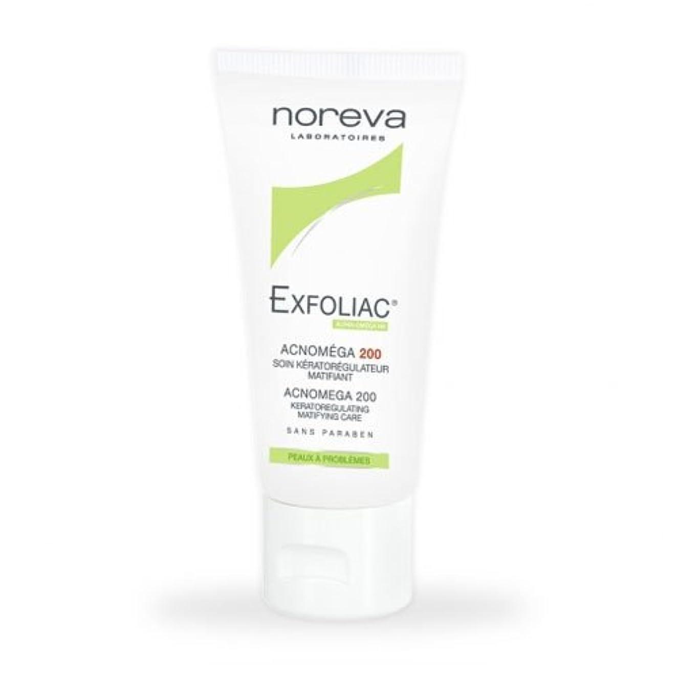 変わるファイター置き場Noreva Exfoliac Acnomega 200 Matifying Care 30ml [並行輸入品]