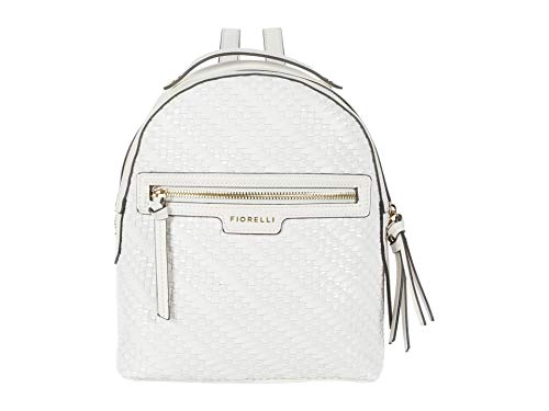 Fiorelli Damen Anouk Backpack Rucksack, Cremefarbenes Gewebe, Einheitsgröße