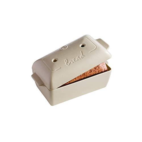 Emile Henry Linen Bread Loaf Baker, 9.4' x 5.9' x 4.9'