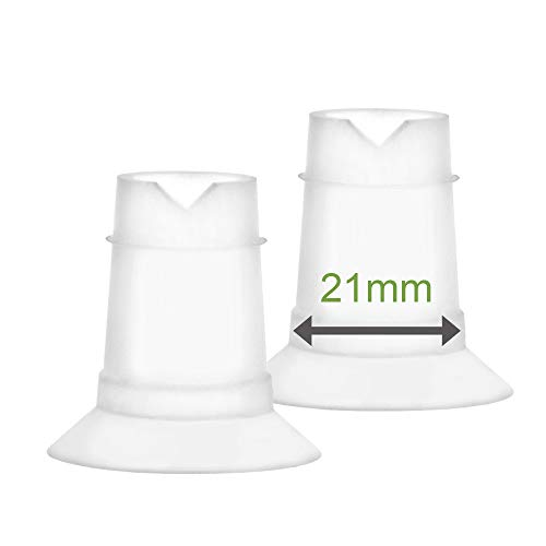 Maymom Flange Inserts for Freemie Flanges (21 mm); Small Inserts for Freemie Collection Cups