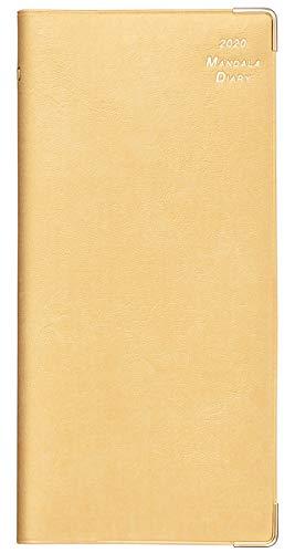 2020年 マンダラ手帳 ポケットサイズ(ゴールド)