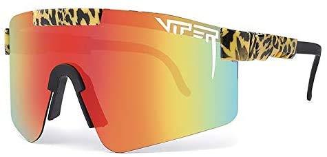 Pit Vipers UV400 - Gafas de sol polarizadas para conducir, correr, pesca, senderismo, golf, al aire libre, para hombres y mujeres (G17)