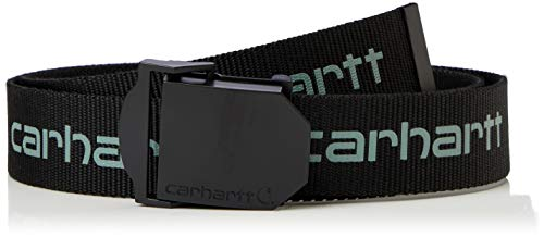 Carhartt Herren Webbing Belt, Schwarz (Black), L