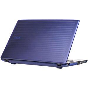 mCover Azul Carcasa Dura/Fundas duras SÓLO para Acer Aspire E 15 E5-575 / E5-575G Serie Ordenador portátil