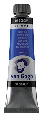 Royal Talens : Van Gogh Oil Paint : 40ml : Cobalt Blue S2