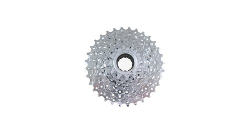9-Fach SCHRAUB-ZK-MFEX9-11-32 Z.-E-Bike-verchromt (SunRACE)