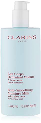 Clarins, Loción Corporal Hidratante con Aloe Vera, 400 ml