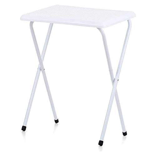 UNU_YAN Picnic Tables for Outdoors Folding Snack Table, Plastic and Iron Tubing, Laptop Table Stand, Suitable for Camping Chairs, Sofas, Beds or One Side of The Room Corner