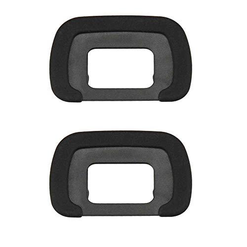 K50 - Visor ocular de goma compatible con cámaras réflex digitales PENTAX K50, K30, K5II, K500, K-S2 [sustituye a PENTAX FR Eyecup]