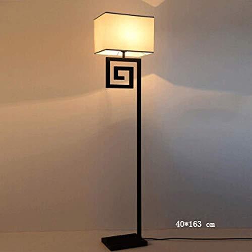 Neue Chinesische Stehlampe Wohnzimmer Schlafzimmer Klassische Vertikale Tischlampe Hotel Studie Nachtbett Antike Technik Eisenlampe(Color:B.)
