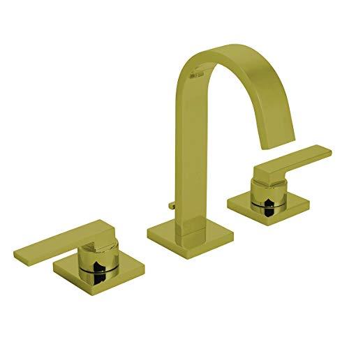 Speakman CD523BBZ Lura 8 in. Widespread Bathroom Faucet with Pop-Up Drain in Brushed Bronze