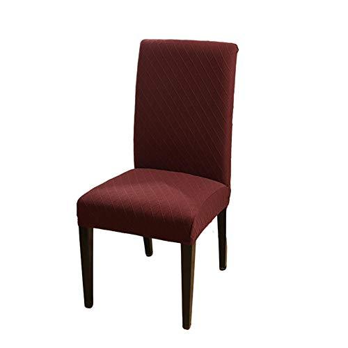 Restaurant Stuhl Schonbezüge, Esszimmer Stuhlhussen Abnehmbare waschbare Sitzbezüge Esszimmer Stuhl Protector Universal Fitting für Hotel Dining