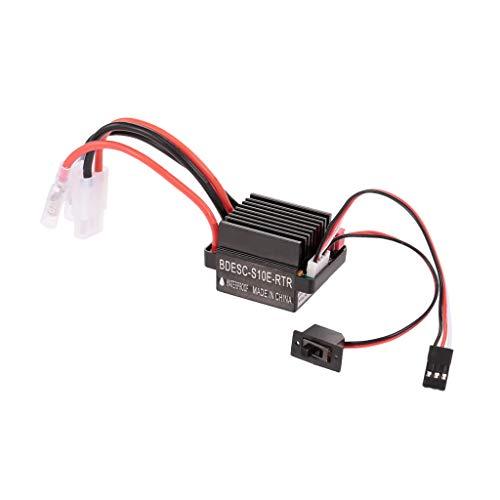 chiwanji RC Auto Brushed Regler ESC Elektronischer Drehzahlregler 320A für RC Auto / Boot Ersatzteil Zubehör