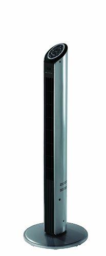 Bionaire BTF001X-01 Ventilador de torre, 40 W, 10 litros, 62.5 Decibeles, Gris