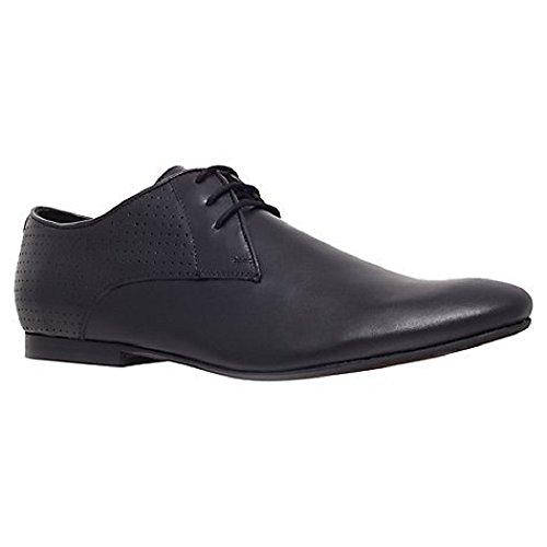 Mr Kurt Geiger Noir de Jais Cuir véritable à Lacets Formelle Chaussures - Noir - Noir Profond,