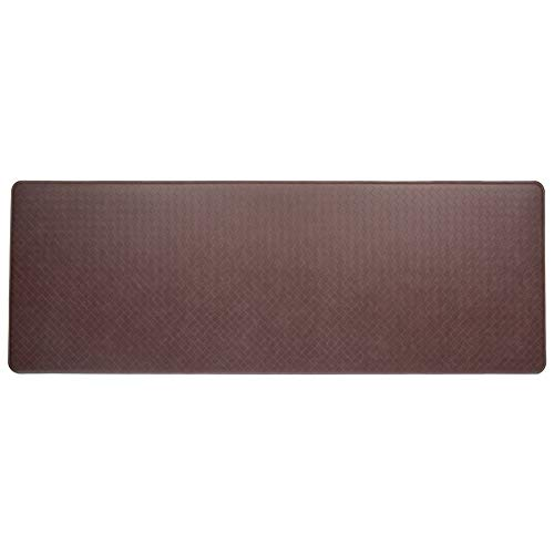 Imprint Cumulus9 Kitchen Mat Nantucket Series Island Area Runner 26 in. x 72 in. x 5/8 in. Cinnamon