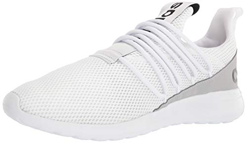 adidas mens Lite Racer Adapt 3.0 Running Shoe, White/White/Grey, 11 US