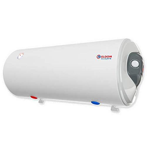 ELDOM Durchlauferhitzer 100 L 3 kW waagerecht emailliert rechts el. Ausgänge Wasserauslässe unten WH10046BR