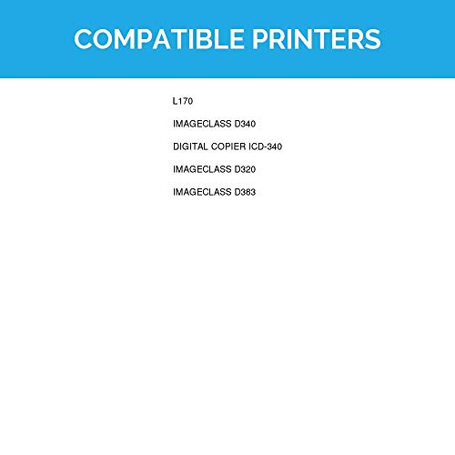 LD © Canon Remanufactured S35 (7833A001AA) Set of 2 Black Laser Toner Cartridges for use in the ICD-340, ImageClass D320, D340, D383 Printers Photo #2