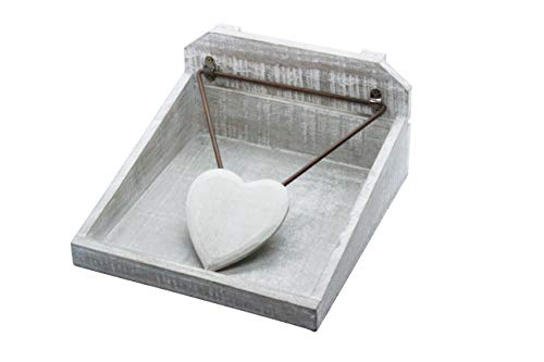 Gisela Graham Distressed Wooden Napkin Holder by Gisela Graham