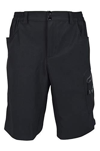 mountain bike vestiti SUNDRIED Mens Mountain Bike Shorts PRO Gamma MTB Vestiti di Riciclaggio (L