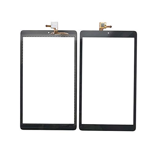 JOEMEL Touch Digitizer Replacement Screen Glass Compatible with Alcatel One Touch Pixi3 10 (3G) 8079 8080 (Not Include LCD) (Black)