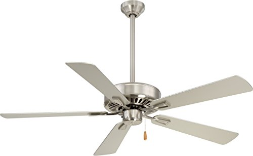 Minka-Aire F556-BN, Contractor Plus 52' Ceiling Fan, Brushed...