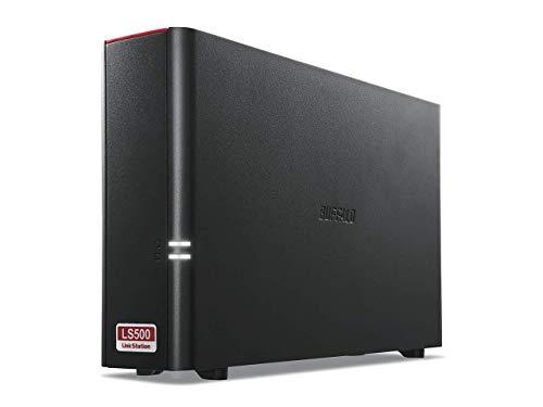 BUFFALO NAS スマホ/タブレット/PC対応/ブラック ネットワークHDD 3TB LS510D0301G 【同時アクセスでも快適...