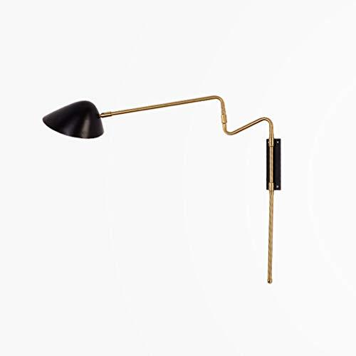 Nachtlampje behang Nordic creatieve eenvoudige moderne woonkamer slaapkamer studie licht luxe rotary bed Head