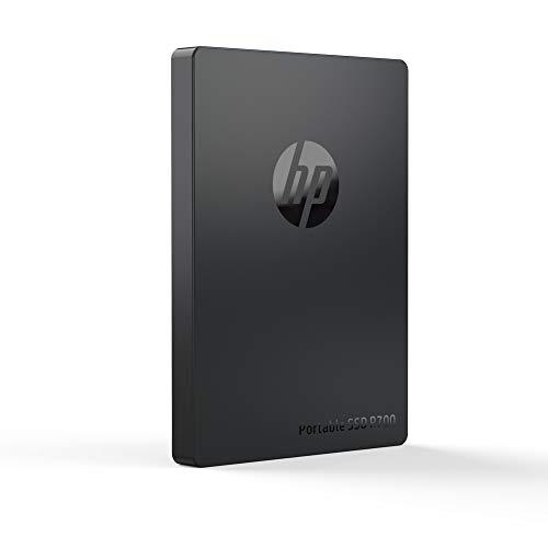 Hewlett Packard 5MS28AA#ABB Externe SSD P700, 256 GB, USB 3.1 Gen 2 (USB-C-Anschluss), Schwarz