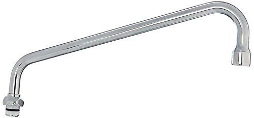 TS Brass 062X Swing Nozzle, 12-Inch, Chrome