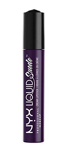 NYX PROFESSIONAL MAKEUP Liquid Suede Cream Lipstick - Oh Put it On, Deep Dark Purple