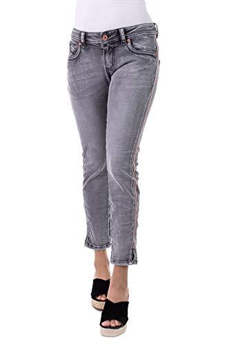 Blue Monkey Damen Jeans Laura 10453 Applikationen