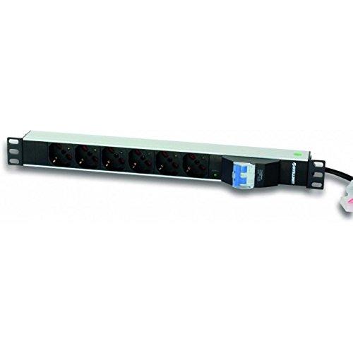 Intellinet I-Case STRIP-61U Accesorio de Bastidor Regleta eléctrica - Accesorio de Rack...