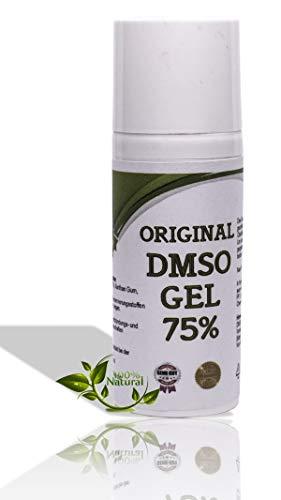 Leivys DMSO Gel - Salbe mit Dimethysulfoxid 99,9% Reinheit bequeme Anwendung, effektive Wirkung 50ml