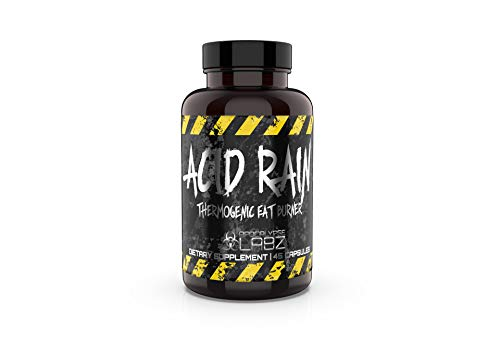 Apocalpyse Labz Acid Rain Thermogenic Fat Burner - Promotes Weight Loss, Increases Energy & Focus - Appetite Suppressant, Slimming Metabolic Booster - Caffeine, Taurine, N-Acetyl L-Tyrosine - 45 Caps