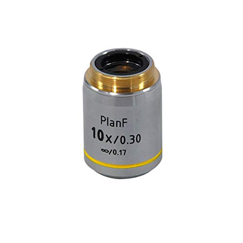BoliOptics 10X Infinity-Corrected Plan Fluor Apochromatic Microscope Objective Lens Working Distance 12.4mm FM13013331